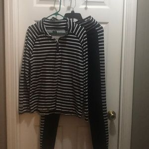 Sale!!! 2/$20💵 black and white casual lounge wear